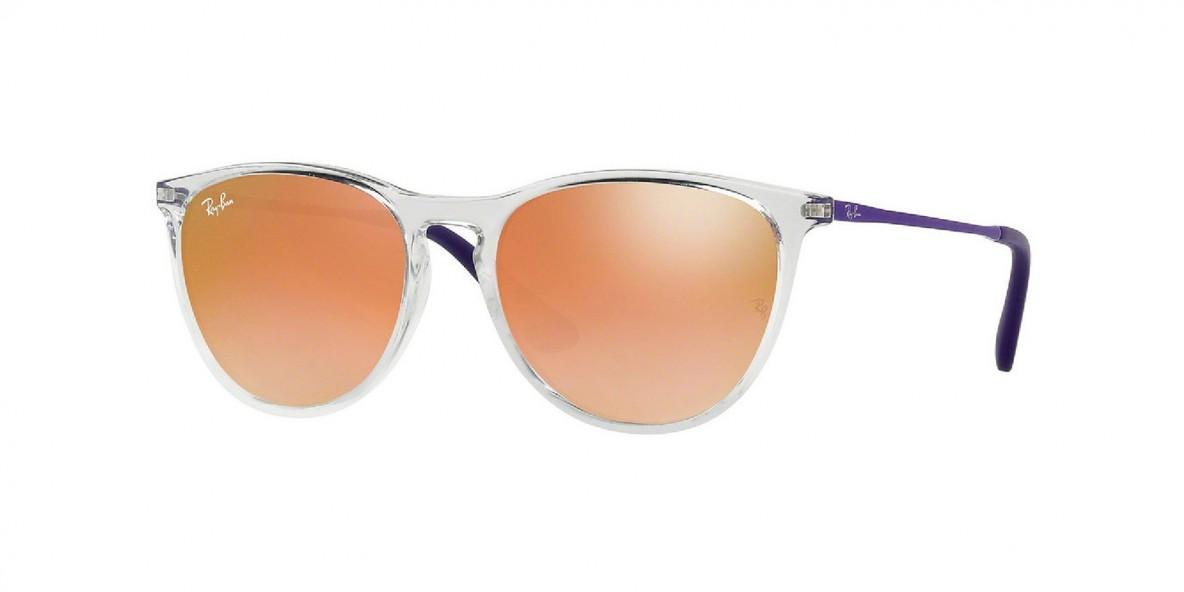 Ray-Ban 9060S 7030B9 50 عینک آفتابی دخترانه ریبن گرد