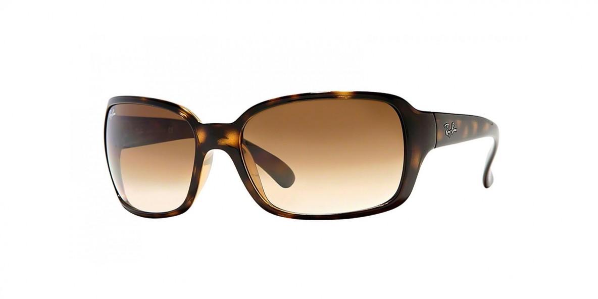 Ray-Ban Sunglass 4068s 071051 60 عینک آفتابی ریبن با عدسی های قهوه ای مستطیلی