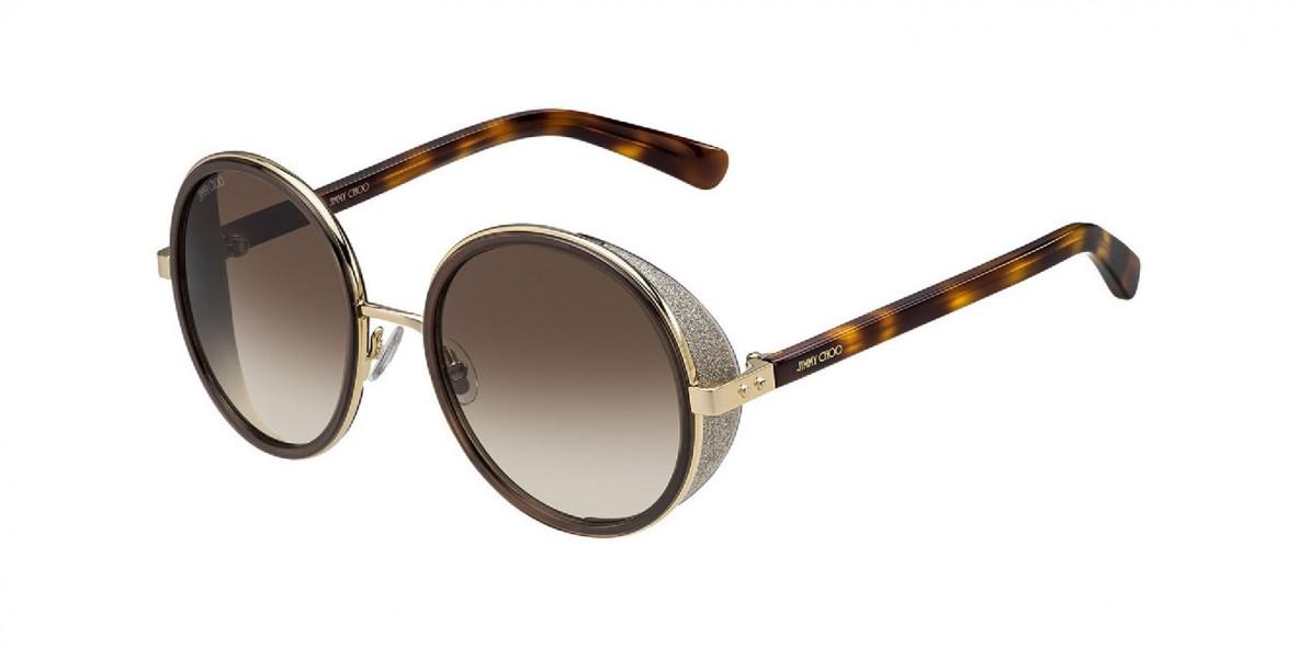 JimmyChoo Sunglass ANDIE/S J7GJD 54 عینک آفتابی زنانه جیمی چو گرد