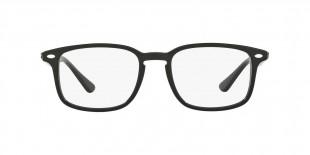 RayBan RB5353 2000 52 عینک طبی ریبن 5353 مربعی 52 میلی متری و فریم کائوچویی مشکی  عینک نور
