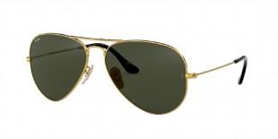 Ray-Ban 3025S 000181 58 عینک آفتابی زنانه مردانه ریبن خلبانی
