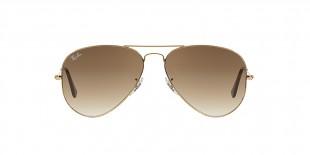 RayBan 3025S 000151 55 عینک آفتابی مردانه زنانه ریبن خلبانی