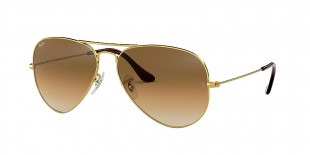 Ray-Ban 3025S 000151 58 عینک آفتابی مردانه زنانه ریبن خلبانی