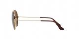 RayBan 3025S 000157 62 عینک آفتابی مردانه زنانه ریبن خلبانی