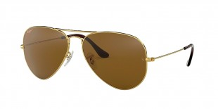 Ray-Ban 3025S 000157 62 عینک آفتابی مردانه زنانه ریبن خلبانی