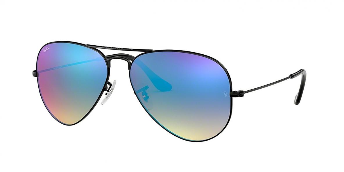 Ray-Ban 3025S 00024O 55 عینک آفتابی مردانه زنانه ریبن خلبانی