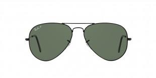 Ray-Ban 3025S 000258 55 عینک آفتابی مردانه زنانه ریبن خلبانی