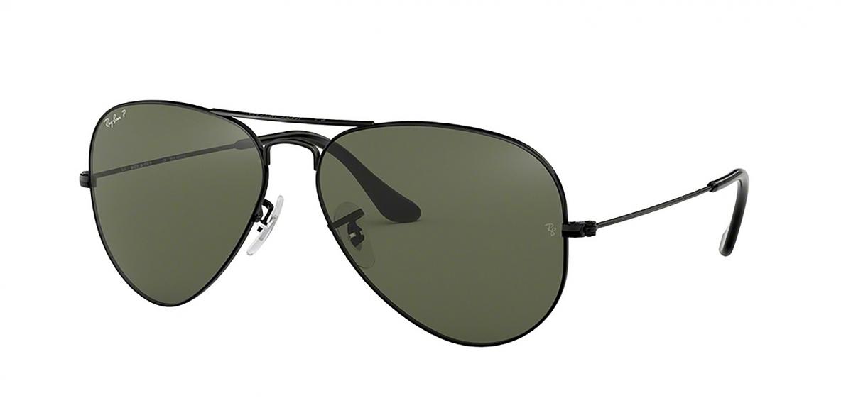 Ray-Ban 3025S 000258 58 عینک آفتابی مردانه زنانه ریبن خلبانی
