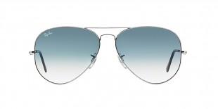 Ray-Ban RB3025 003/3F 58 عینک ریبن خلبانی نقره ای