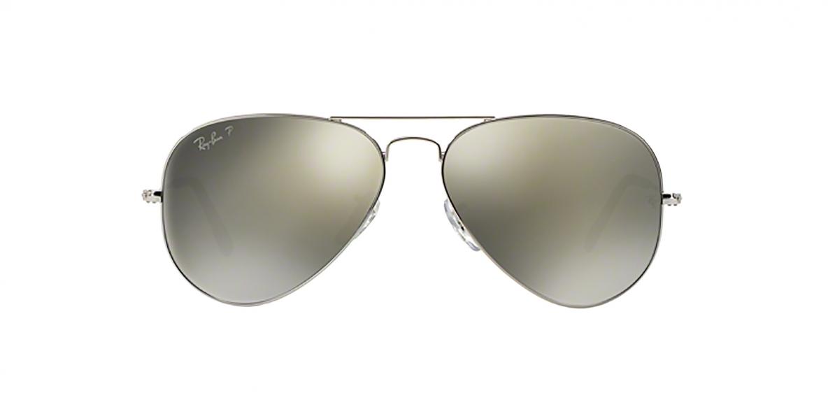 Ray-Ban 3025S 000359 58 عینک آفتابی مردانه زنانه ریبن خلبانی