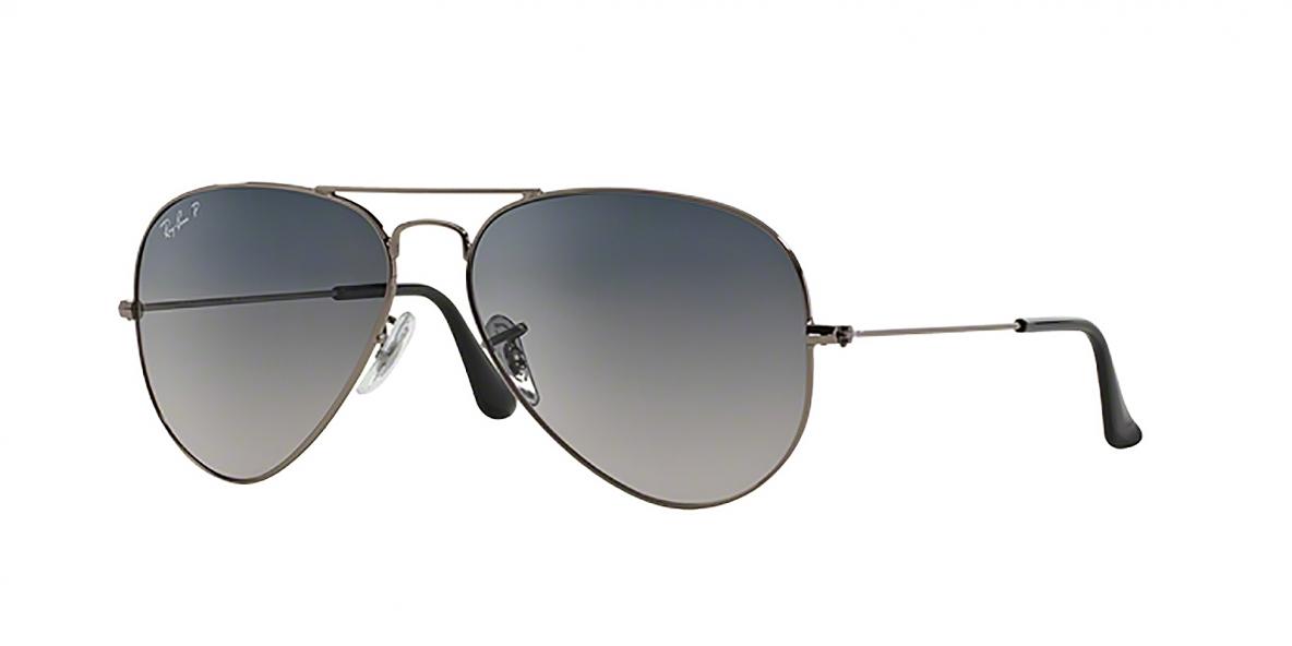 Ray-Ban 3025S 000478 58 عینک ریبن خلبانی کلاسیک پلاریزه
