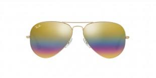 Ray-Ban RB3025 9020C4 58 عینک خلبانی ریبن رنگین کمانی