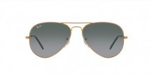 Ray Ban RB3025 197/71 58 عینک آفتابی خلبانی ریبن عدسی دودی