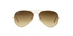 Ray-Ban 3025S 011285 58 عینک آفتابی خلبانی قهوه ای کلاسیک