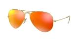 Ray-Ban 3025S 011269 عینک آفتابی ریبن خلبانی رفلکس قرمز