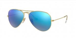 Ray-Ban 3025S 011217 58 عینک آفتابی خلبانی ریبن آبی سبز
