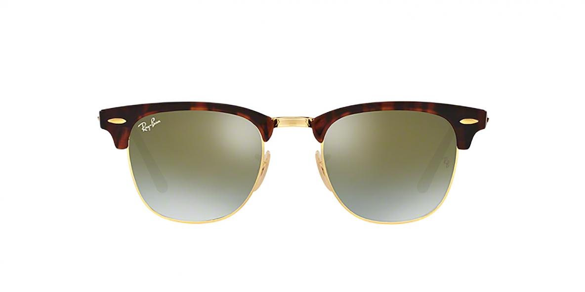 Ray-Ban 3016S 09909J 49 عینک ریبن کلاب مستر قهوه ای هاوانا