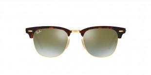 Ray-Ban RB3016 990/9J 49 عینک ریبن کلاب مستر قهوه ای هاوانا