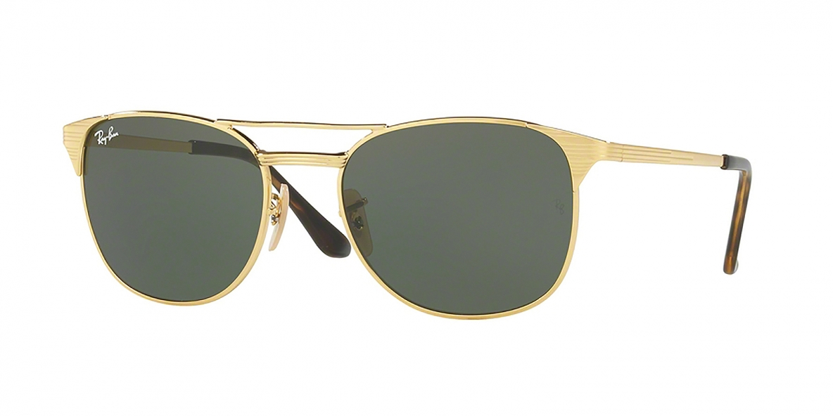 RayBan 3429M 000001 55 عینک آفتابی مربعی ریبن مخصوص آقایان
