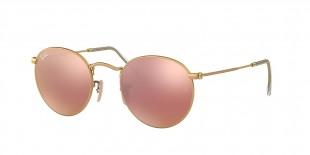 RayBan 3447S 0112Z2 50 عینک گرد آفتابی ریبن مدل با عدسی های آینه ای