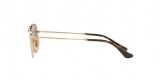 RayBan Sunglass 3548N 0001Z2 48عینک آفتابی ریبن چندضلعی مدل 3548 مناسب خانم ها و آقایان با عدسی مسی آیینه ای