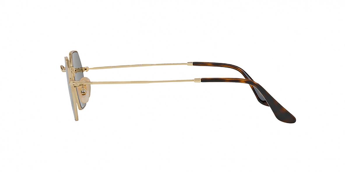 RayBan Sunglass 3556N 000001 53عینک آفتابی برند ریبن با عدسی های دودی