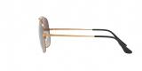 RayBan Sunglass 3561S 019771 57عینک آفتابی ریبن مدل 3561 مناسب آقایان و عدسی سایه روشن سبز دودی
