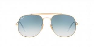 Ray-Ban Sunglass 3561S 00013F 57 عینک آفتابی برند ریبن با عدسی های آبی سایه روشن