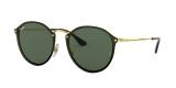 RayBan Sunglass 3574N 000171 59عینک آفتابی ریبن مدل 3574 گرد مناسب خانم ها و آقایان با عدسی سبز تخت