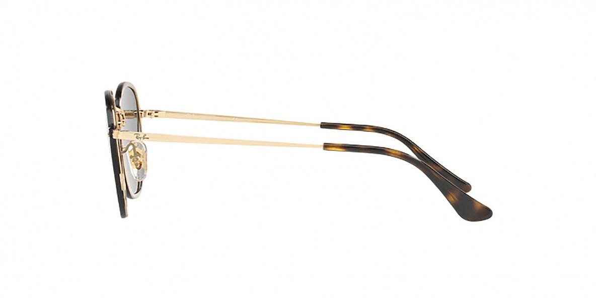 RayBan Sunglass 3579N 000171 58عینک آفتابی ریبن چندضلعی مدل 3579 مناسب خانم ها و آقایان با عدسی سبز