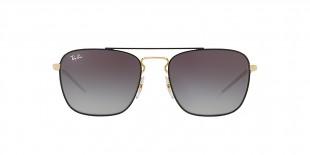 RayBan Sunglass 3588S 90548G 55عینک آفتابی ریبن مدل 3588 مناسب آقایان با عدسی دودی سایه روشن