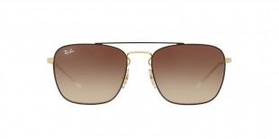 Ray-Ban Sunglass 3588S 905513 55 عینک آفتابی ریبن مدل 3588 مناسب آقایان با عدسی قهوه ای سایه روشن