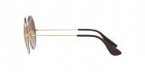 RayBan Sunglass 3592S 0001T5 50عینک آفتابی گرد ریبن مدل 3592 با عدسی پلاریزه دودی قهوه ای مناسب خانم ها