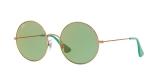RayBan Sunglass 3592S 9035C7 50عینک آفتابی ریبن گرد مدل 3592 با عدسی سبز و آیینه ای قرمز مناسب خانم ها