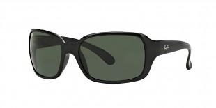 Ray-Ban Sunglass 4068s 000601 60 عینک آفتابی ریبن با عدسی های خاکستری مستطیلی