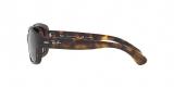 RayBan Sunglass 4101S 0710T5 58عینک آفتابی ریبن مدل 4101 گربه ای مناسب خانم ها با عدسی پلاریزه