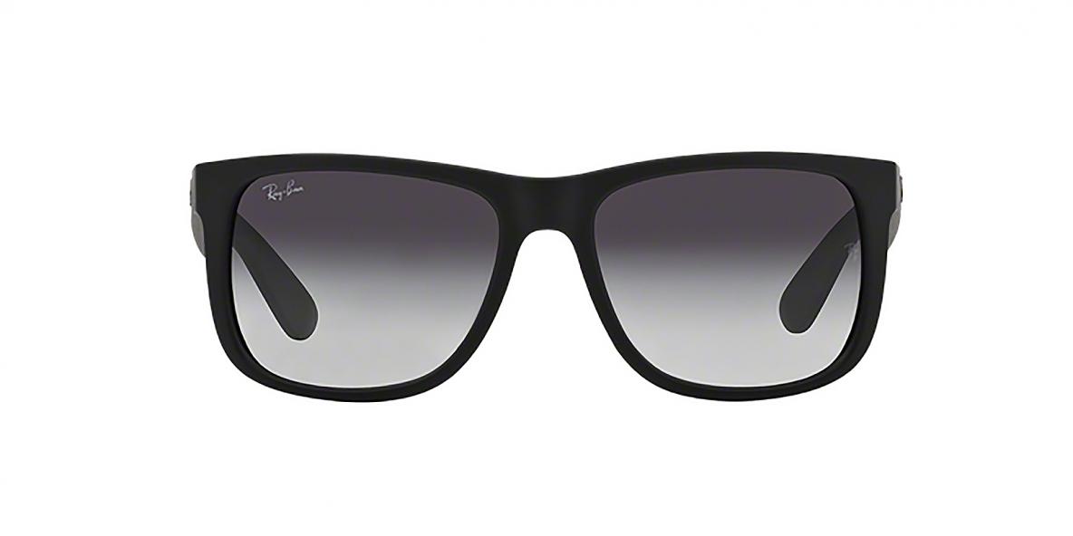 RayBan 4165s 06018G 55 عینک آفتابی مردانه ریبن با عدسی های خاکستری سایه روشن