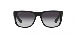 Ray-Ban RB4165 6018G 55 عینک آفتابی مردانه ریبن جاستین با عدسی های خاکستری سایه روشن