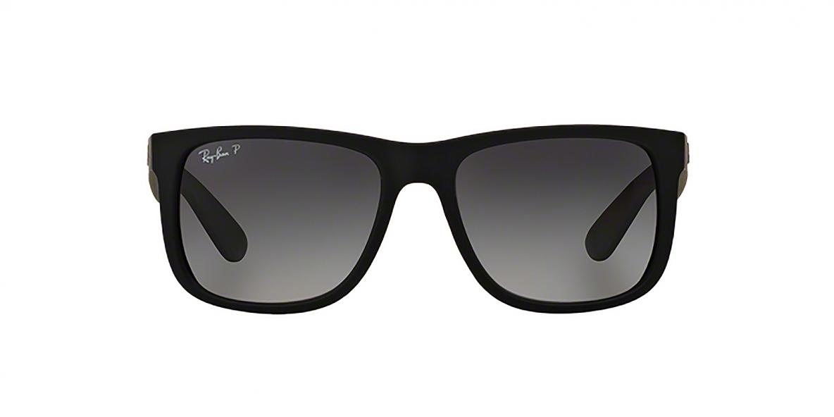 RayBan 4165S 0622T3 55 عینک آفتابی مردانه ریبن جاستین با عدسی های خاکستری سایه روشن