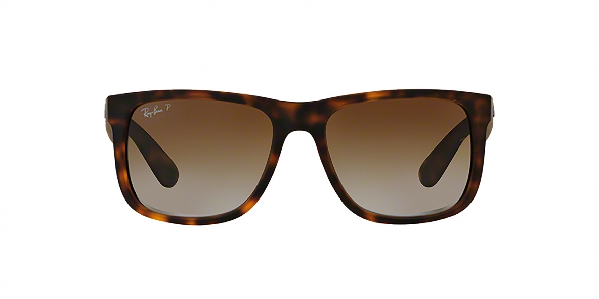 Ray-Ban RB4165 865T5 55 عینک آفتابی مردانه ریبن جاستین با عدسی های قهوه ای سایه روشن