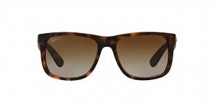 RayBan 4165S 0865T5 55 عینک آفتابی مردانه ریبن با عدسی های قهوه ای سایه روشن
