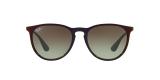 Ray-Ban 4171 6316E8 54 عینک آفتابی ریبن اریکا با عدسی های گرد سبز و قهوه ای سایه روشن