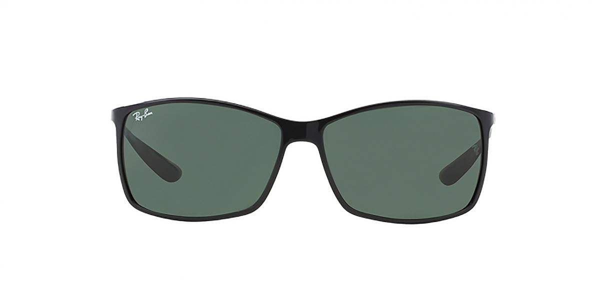 RayBan 4179S 060171 62عینک آفتابی مردانه مستطیلی ریبن با عدسی های سبز
