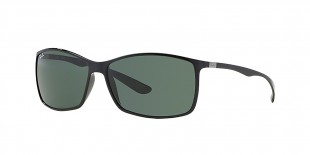 Ray-Ban 4179S 060171 62 عینک آفتابی مردانه مستطیلی ریبن با عدسی های سبز