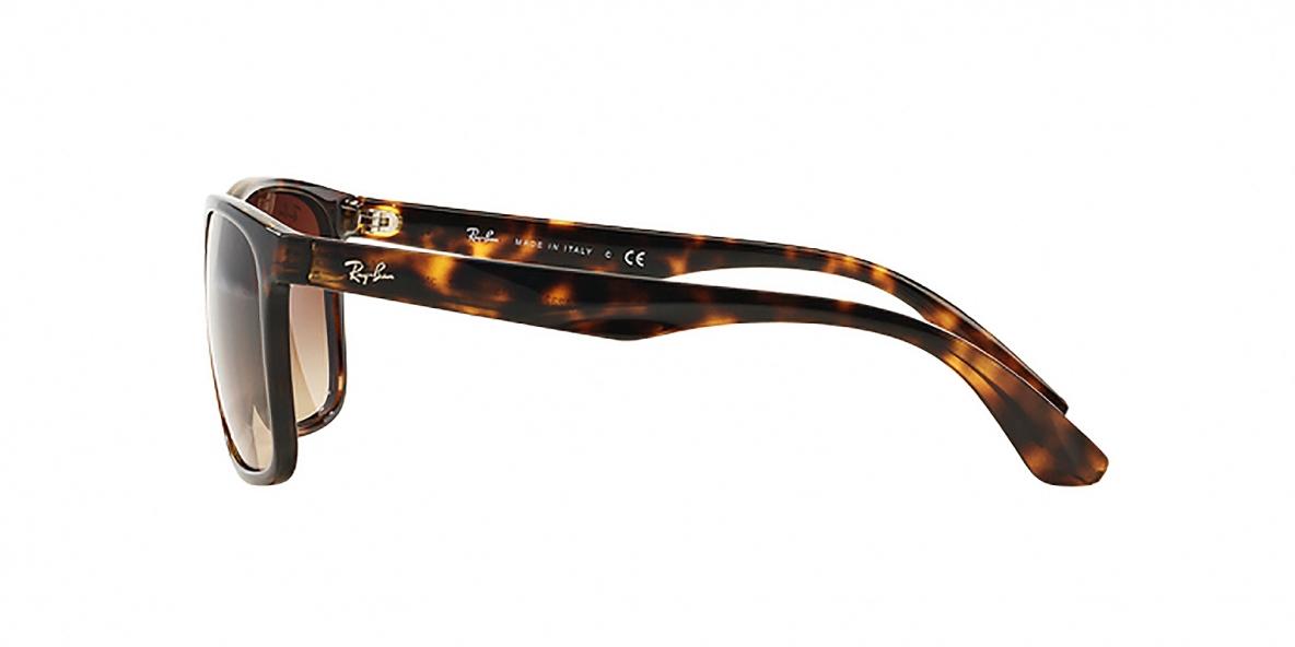 RayBan 4232S 071013 57عینک آفتابی ریبن مربعی مدل 4232 مناسب آقایان قهوه ای هاوانا