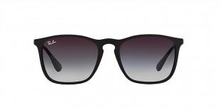 Ray-Ban 4187S 06228G 54 عینک آفتابی ریبن مدل 4187 مشکی دودی مناسب آقایان و خانم ها