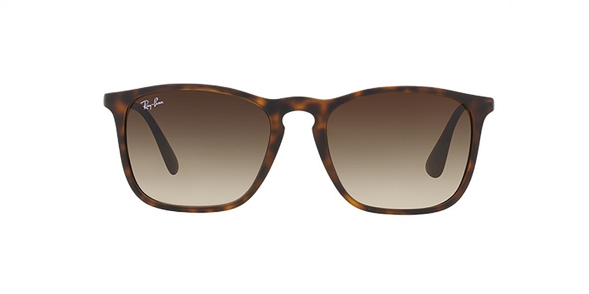 Ray-Ban 4187S 085613 54 عینک آفتابی ریبن قهوه ای هاوانا با عدسی قهوه ای اریکا