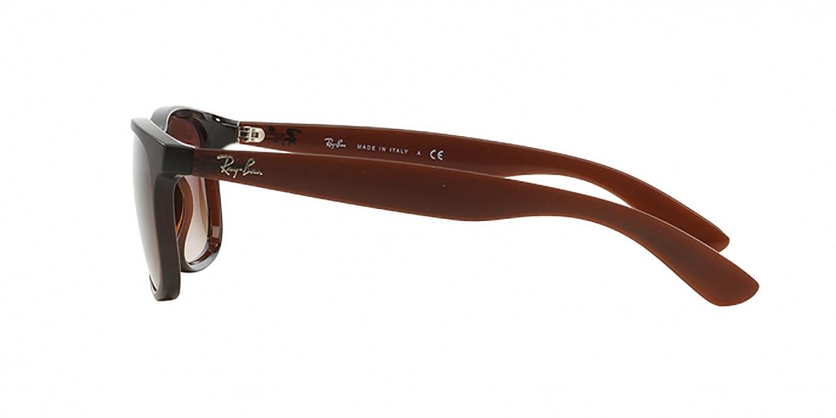 RayBan 4202S 607313 55عینک آفتابی ریبن مدل 4202 مدل اندی قهوه ای مناسب خانم ها و آقایان