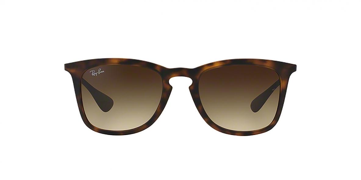 Ray-Ban 4221S 086513 50 عینک آفتابی ریبن مدل 4221 مناسب خانم ها و آقایان قهوه ای هاوانا مربعی