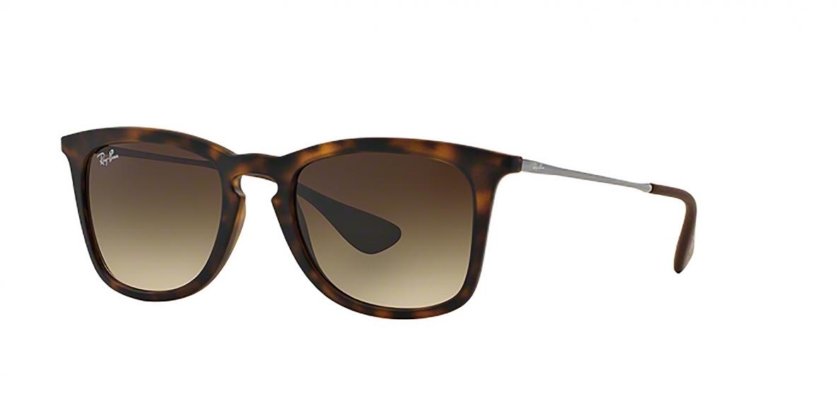 RayBan 4221S 086513 50عینک آفتابی ریبن مدل 4221 مناسب خانم ها و آقایان قهوه ای هاوانا مربعی